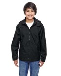 TT72Y Team 365 Youth Conquest Jacket with Fleece Lining