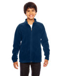TT90Y Team 365 Youth Campus Microfleece Jacket