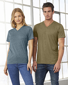 3415C Bella + Canvas Unisex Triblend Short-Sleeve V-Neck T-Shirt
