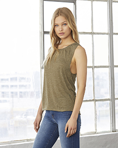 B8803 Bella + Canvas Flowy Scoop Muscle Tank