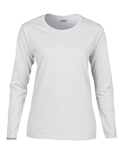 G540L Gildan Ladies' Heavy Cotton™  8.8 oz./lin. yd. Long-Sleeve T-Shirt